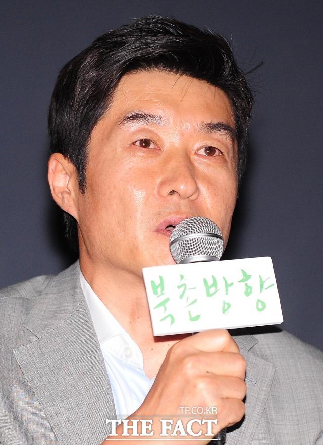 지난 2011년 영화 북촌방향 시사회 당시 김상중. 배우 김상중이 드라마 역적 홍길동에 출연한다. /더팩트 DB