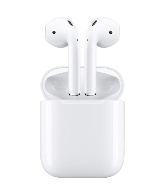 애플이 26일(현지시각) 발표한 성명에서 이달 말 판매 예정이던 무선 이어폰 에어팟의 출시를 연기한다고 밝혔다. /애플 홈페이지 캡처