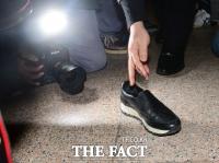[TF삐컷] 최순실의 벗겨진 신발…누리꾼