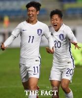 [TF화보] '강지훈 결승골-이승우 펄펄' 한국 U-19, 잉글랜드 2-1 역전승