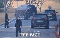 [TF포토] '고 이병철 추모식' 참석하는 삼성家 일행