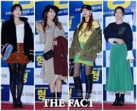 [TF포토] 개성만큼 복장도 가지각색…스타들의 극장 나들이 패션