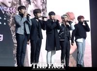 [TF포토] B1A4, '숨 막히게 멋있는' 다섯 남자