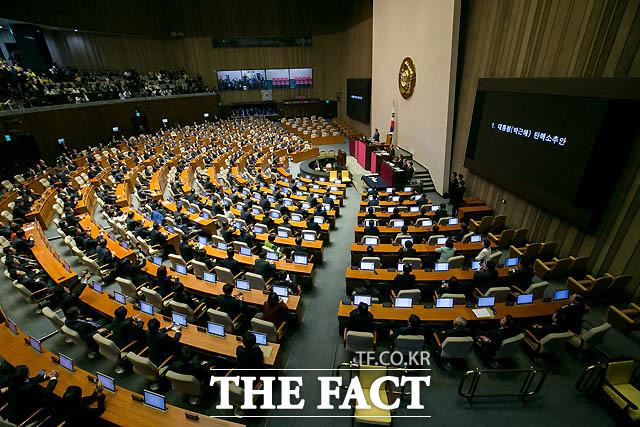 12월 1일 새누리당은 박근혜 대통령 내년 4월 퇴진·6월 조기 대통령선거 당론 채택했다. 2일은 더불어민주당·국민의당·정의당 등 야3당+무소속 의원 171명, 박근혜 대통령 탄핵소추안 발의했고 6일 새누리당은 박근혜 대통령 내년 4월 퇴진·6월 조기 대통령선거 당론 사실상 철회하고 탄핵소추안 표결 자유 투표하기로 결정했다.