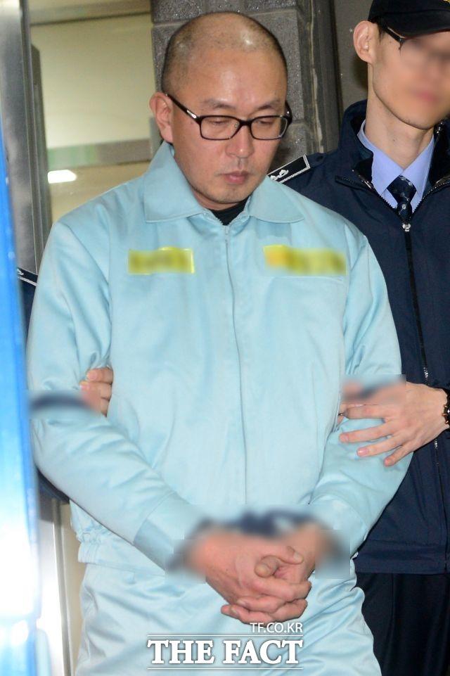 11월 11일 차은택 전 창조경제추진단장 구속.