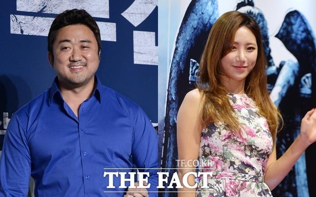 마동석♥예정화. 배우 마동석-방송인 예정화 커플은 지난달 18일 열애 사실을 인정했다. /더팩트 DB