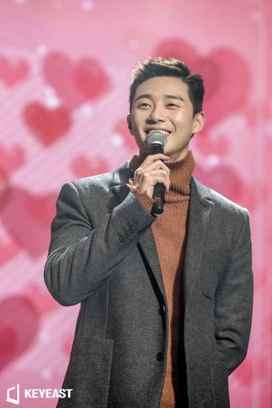 배우 박서준이 20대 마지막 생일에 3000여 한국, 중국, 일본 팬들과 특별한 파티를 열었다. /키이스트 제공