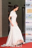 [TF포토] 김열, '대종상 빛내는 순백 드레스'