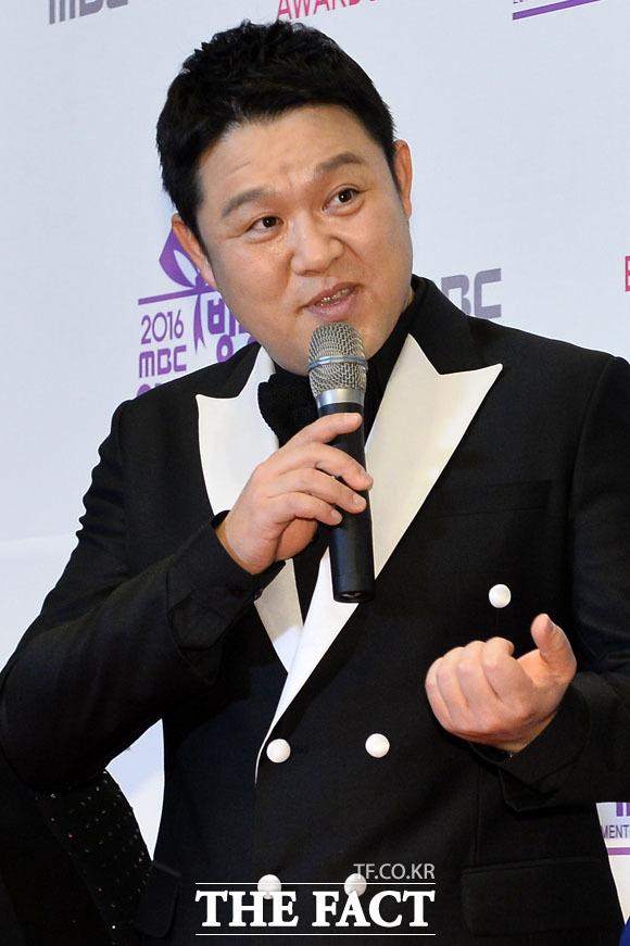 대상 후보 오른 김구라