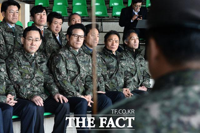 도라전망대 부대 방문한 개혁보수신당 지도부