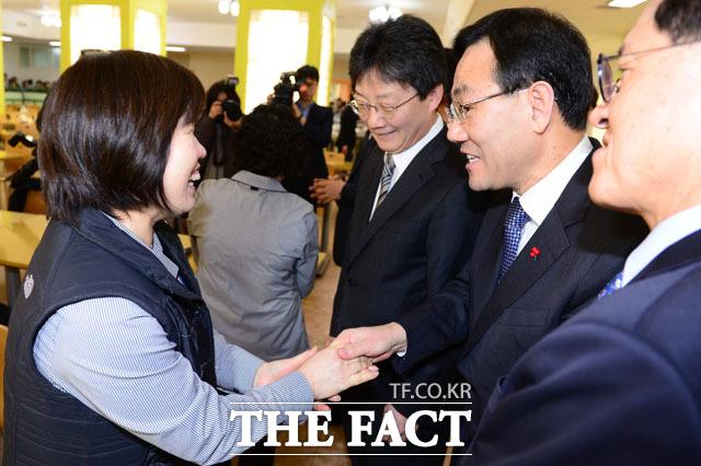 개혁보수신당(가칭) 유승민 의원, 주호영 원내대표 정운천 의원