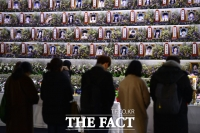 [TF포토] 세월호 침몰 1000일… 합동분향소 찾는 시민들