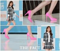 [TF포토] 공승연 '봄처럼 화사한 분홍색 하이힐'