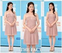 [TF포토] 박혜수, '여성미 잡은 누드톤 원피스'