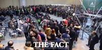 [TF포토] 국민의당 첫 전당대회, '투표하는 당원들'