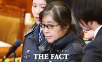 [TF포토] '작정'한 최순실, 헌재 출석 후 '고성·궤변' 일관...