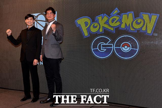 포켓몬고가 한국에 출시된 가운데 국내 엠게임과 한빛소프트 역시 증강현실 게임을 출시할 예정이다. /남윤호 기자