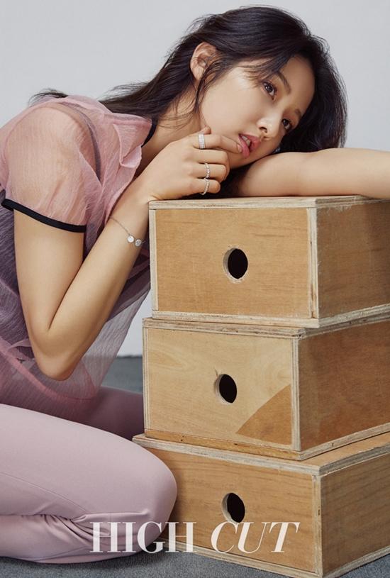 포미닛 출신 남지현. 남지현은 현재 연기 수업을 받으며 배우 활동을 준비하고 있다. /하이컷 제공