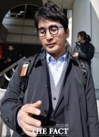 [TF포토] '증인 출석' 마치고 법정 나오는 이성한 전 미르재단 사무총장