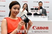 [TF포토] 캐논, 2017 상반기 신제품 'EOS M6' 등 4종 발표