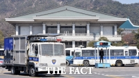 [TF사진관] '청와대 앞 차벽… 누굴 위한 방패인가'