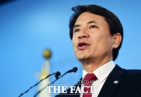 [TF포토] '대권 도전' 김진태, '애국보수 재건하겠다!'