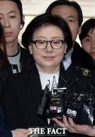 [TF포토] '미스롯데' 서미경 탈세 ·배임 혐의로 법원 출석