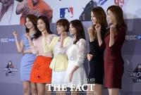 [TF포토] '야구계 미녀 어벤저스 총출동'…MBC 스포츠플러스 간담회