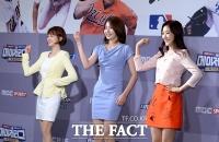 [TF사진관] '새내기 아나운서들의 깜찍한 율동'