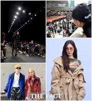 [TF포토] 패셔니스타들의 잔치…'2017 헤라서울패션위크'