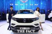 [TF사진관] 세계 최초 공개, 쌍용자동차 'G4 렉스턴'