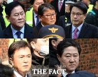 [TF포토] '박 전 대통령 자택 찾은 친박 호위무사들'