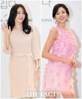 [TF포토] 송윤아-야노시호, '엄마들의 봄 패션 대결'