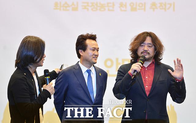 김어준, 안민석 의원은 정치를 열심히는 하는데...