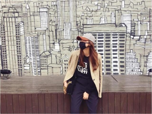 배우 박한별, '콧바람 슝슝!'. 배우 박한별이 결별설에 휩싸인 가운데 11일 인스타그램에 올린 근황 사진이 관심을 끌고 있다. /박한별 인스타그램 캡처