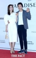 [TF포토] 손태영-권상우, '점점 더 사랑스러워지는 부부'
