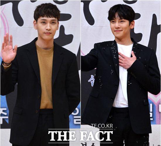 최태준(왼쪽)이 평소 친분이 있는 지창욱을 향한 애정을 표현했다. /남윤호 기자