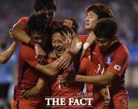 [TF화보] 한국, 우승후보 우루과이 2-0 승리...아르헨전 청신호