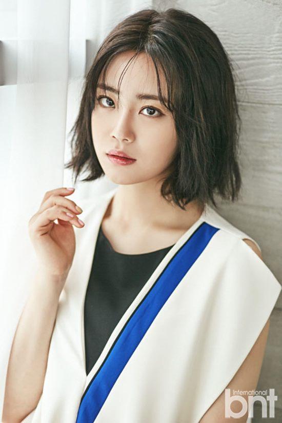 가수 겸 배우 허영지(사진)가 동료 배우 에릭의 결혼 소식에 놀란 심정을 밝혔다. /bnt 제공