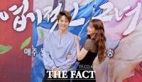 [TF포토] 주원-오연서, '우리는 엽기적인 커플(?)'