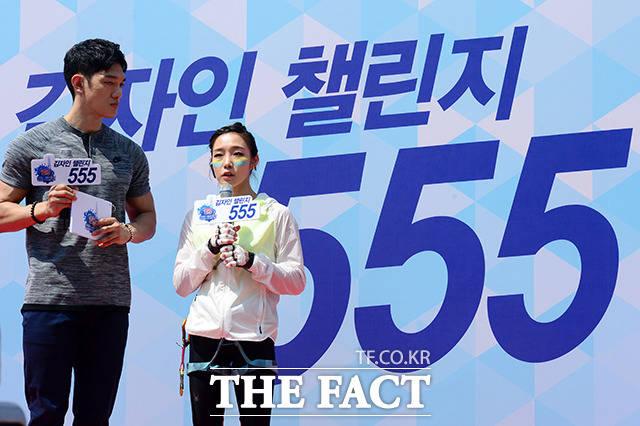 '김자인 챌린지 555'에 도전하는 클라이밍 여제 김자인 선수