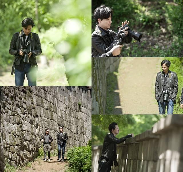 한양도성 걷는 남자, 김남길. 김남길은 이인복 광고 프로듀서 등과 함께 한양도성을 소개하는 문화예술 공익 캠페인을 펼쳤다. /길스토리 제공