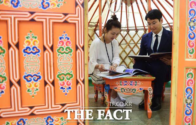 몽골 전통 가옥도 체험하고~