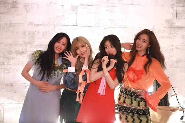 14일 컴백한 그룹 티아라는 신곡 내 이름은으로 활발한 활동을 펼친다. /MBK엔터테인먼트 제공