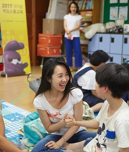 넷마블게임즈, 용인 제일초등학교서 '게임소통교육' 진행