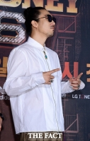 [TF포토] '힙합 제왕' 타이거JK, 시선 사로잡는 패션