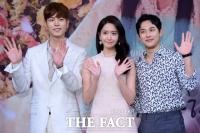 [TF포토] 임시완-임윤아-홍종현, 엇갈린 세 사람의 사랑 '왕은 사랑한다'