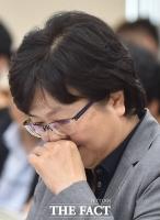 [TF포토] 고심하는 김은경 환경부 장관 후보자