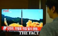 [TF포토] 북한, 대륙간탄도미사일 발사 장면 공개