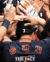 [TF화보] '송광민 펄펄' 한화, LG 꺾고 3연패 탈출
